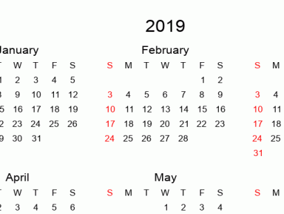 printable full year blank calendars 2019 calendar simple tabular